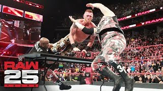 Heath Slater & Rhyno vs. Titus Worldwide: Raw 25, Jan. 22, 2018