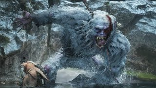 Sekiro: Guardian Ape Boss Fight