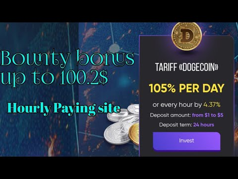 Earn up to 100.2$ | Hourly Paying site | cryptovalley.ltd