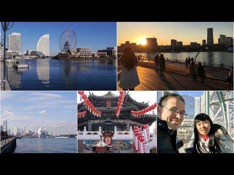 VOYAGE AU JAPON | Yokohama : Minato Mirai, Chûkagai, Osanbashi