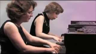Varshavski-Shapiro Piano Duo at Centennial Twin Pianos, Rachmaninoff, Suite 1 for Two Pianos