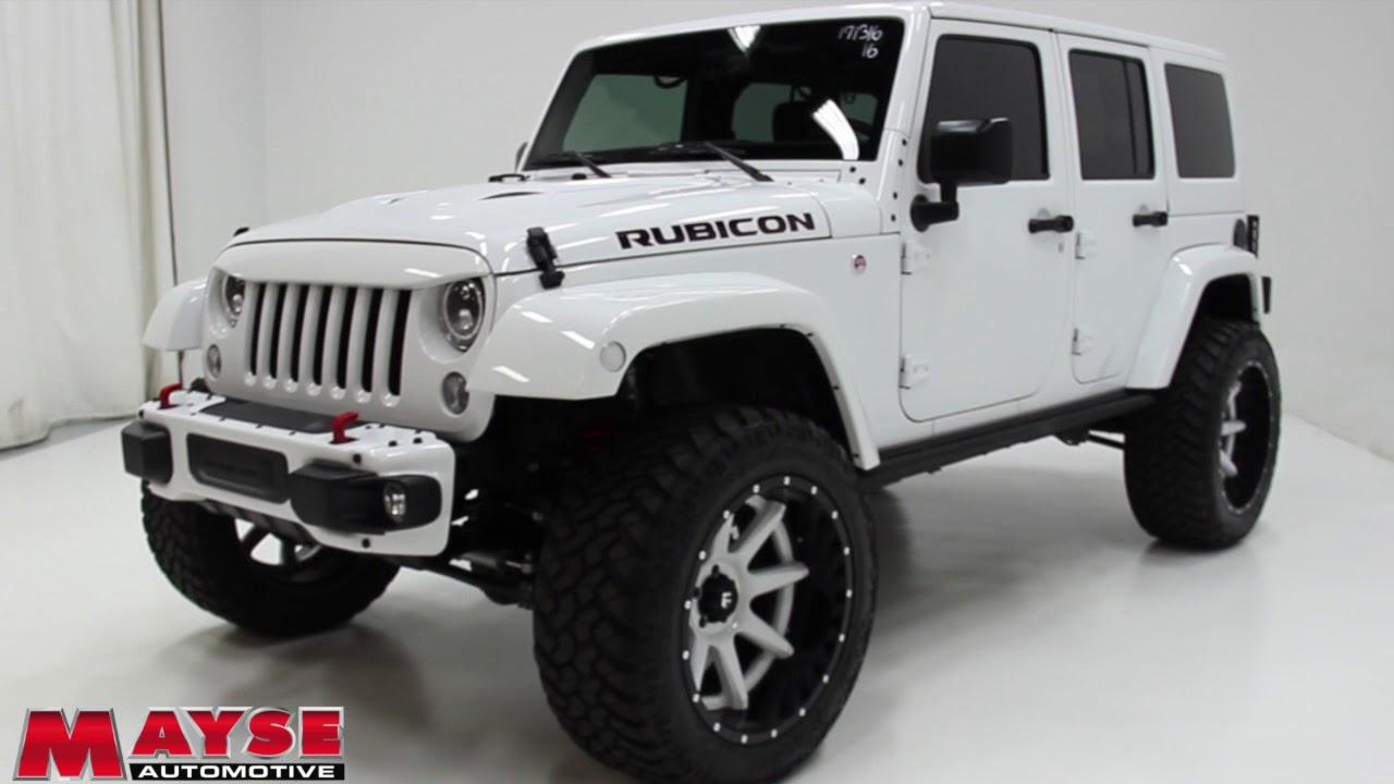 2016 Jeep Wrangler Rubicon At Mayse Automotive Group Near