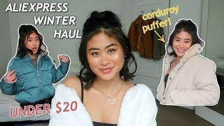 ALIEXPRESS $20 WINTER COAT HAUL PT 2 .. THIS IS HOW YOU SPEND YOUR COIN