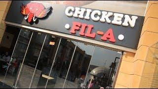 مطعم CHICKEN FILA | الأكيل حلقة كاملة