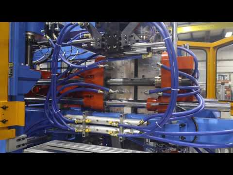 Rocheleau RS-80 Blow Molding Machine 2 Head 5 Gallon