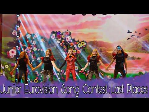 Junior Eurovision | Last Places | 2003-2018