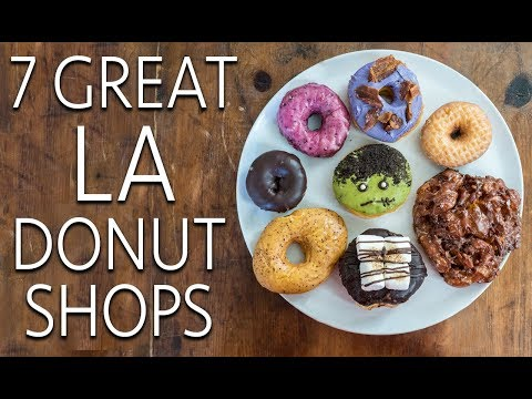 7 Los Angeles Donut Shops You Should Try