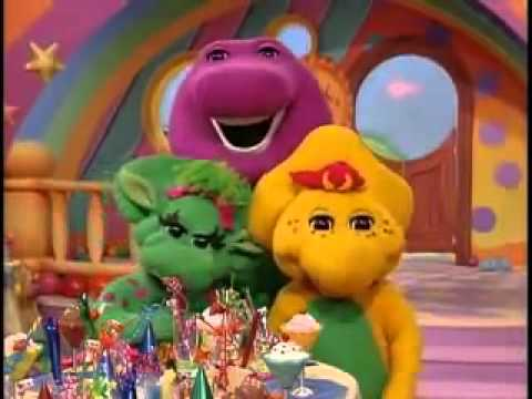 My party with barney part 2 youtube