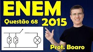 ENEM 2015 - QUESTÃO 68 - PROVA AZUL - FISICA   Prof.  Marcelo Boaro