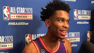 OKC Thunder - Shai Gilgeous-Alexander competes in Rising Stars game