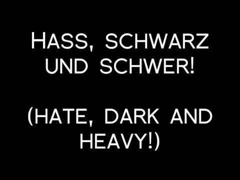 Oomph! - Hast Du Geglaubt? Lyrics with English Translation