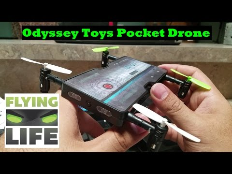 Odyssey Toys POCKET DRONE Never Leave Home without Your Drone