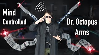 Real Mind Controlled Dr. Octopus Arms! - Super Strength!!