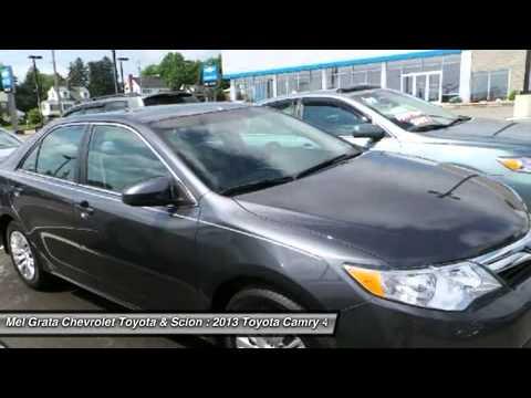 Mel Grata Toyota >> 2013 Toyota Camry Hermitage Pa 72132a Youtube