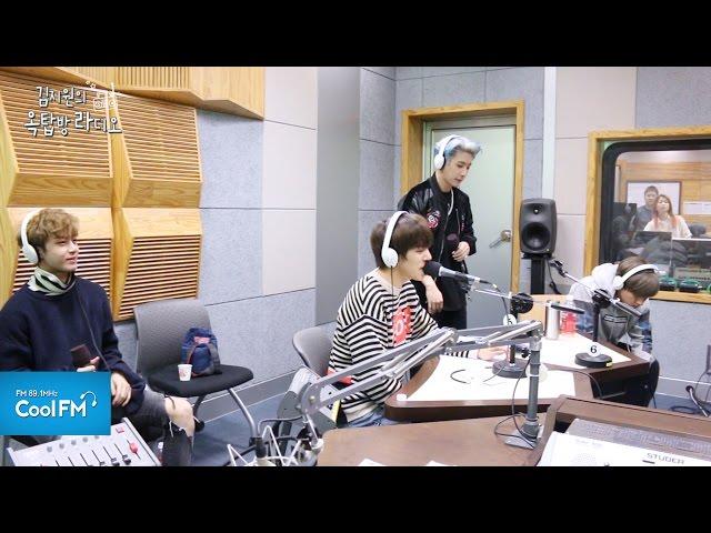 MONSTA X 몬스타엑스 'Fighter' 라이브 LIVE / 161021[김지원의 옥탑방 라디오]