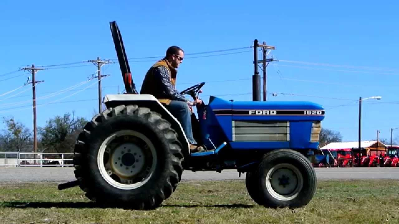 Demo Of 32hp Ford 1920