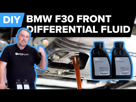 BMW F30 Front Differential Fluid Replacement DIY (BMW 328i, 335i & More)