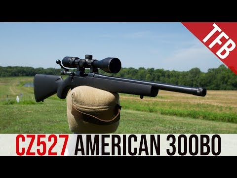 CZ 527 American 300 Blackout Review