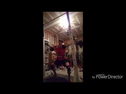 """Week 3 of Intensification and 75 lb PR on Block Pulls (3"""")"""