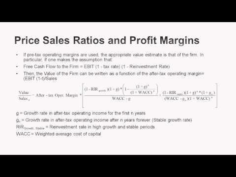 Session 18: Revenue Multiples