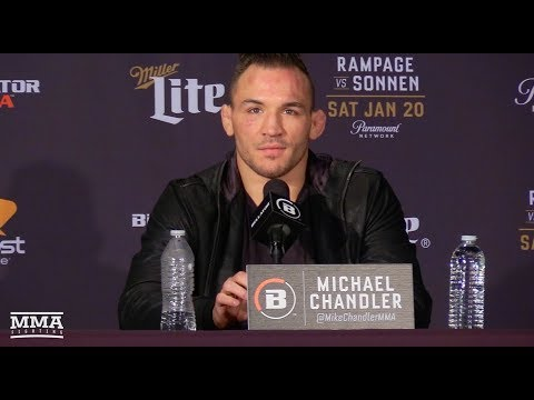 Bellator 192: Michael Chandler Post-Fight Press Conference - MMA Fighting