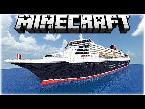 Top 5 MASSIVE Minecraft Ships 1.8.1 (December 2014)