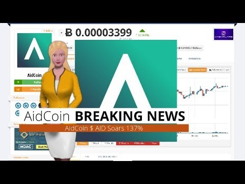 AidCoin $AID Gained 137% During the Last 24 Hours