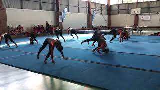 Teamgym - OCR23 2019 - Red squad - Floor routine