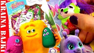 MAGIC POCKET  UROCZE SLIPPETS vs BROKATOWE MONSTER FRIENDS  GAZETKA SEKRET STADNINY  OPENING