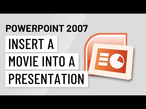 How to make a movie in powerpoint 2007