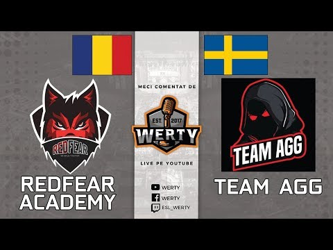 (LIVE CS:GO RO) RedFear Academy (RO) vs. Team AGG (SWE) - MECI AMICAL