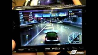 Need for Speed Underground Rivals Sony PSP Gameplay
