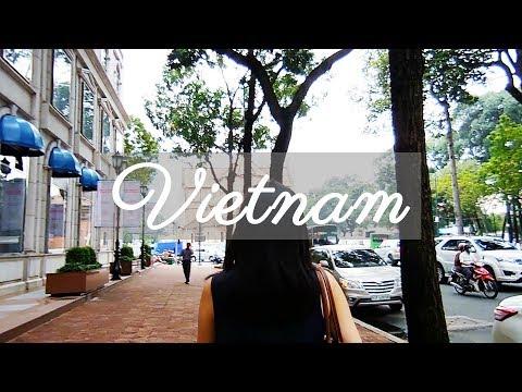 【Vietnam & Japan Travel Vlog】 Part 1: Arriving in Vietnam and Exploring the City