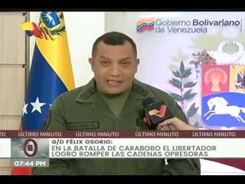 Comisión Presidencial Bicentenaria 2021 se reúne para 200 años de la Batalla de Carabobo