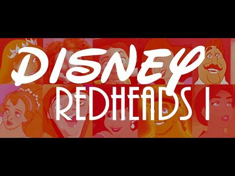 Disney Redheads Part I - Ariel, Merida, Quasimodo, Giselle, Jessie & More!