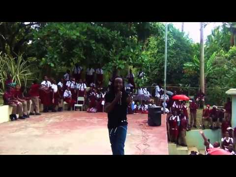 NESBETH LIVE AT TACKY HIGH SCHOOL, ST MARY, JAMAICA  23 SEP 2014