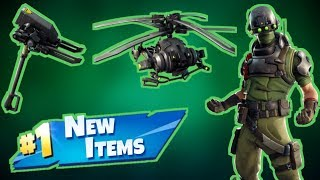 NEW Tech Ops Skin & Items FORTNITE Live Stream!