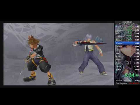 KH2.5 PS4 Level 1 Data Org RTA in 26:21