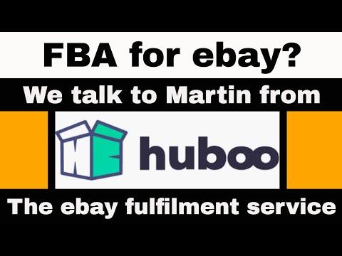 Huboo ebay fulfilment company - FBA for ebay? - A chat with Martin (#AD)