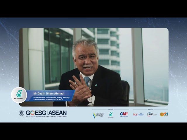 Day 2:Keynote by Mr. Dzafri Sham Ahmad, Vice President, GHSEE, PETRONAS