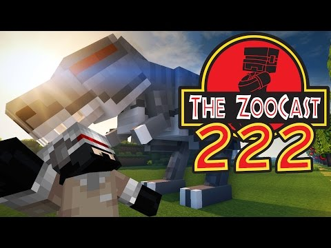 Minecraft Jurassic World (Jurassic Park) ZooCast - #222 Naming The Tyrannosaurus!