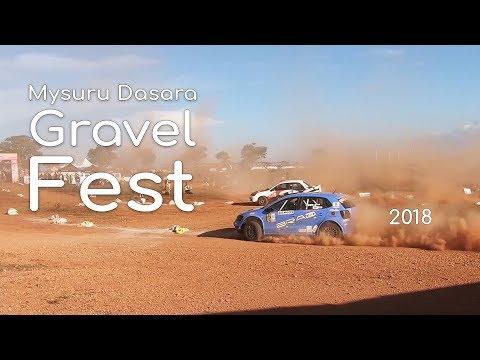 Autocross Race Mysuru Dasara Gravel Fest 2018 || Mysore Dasara 2018