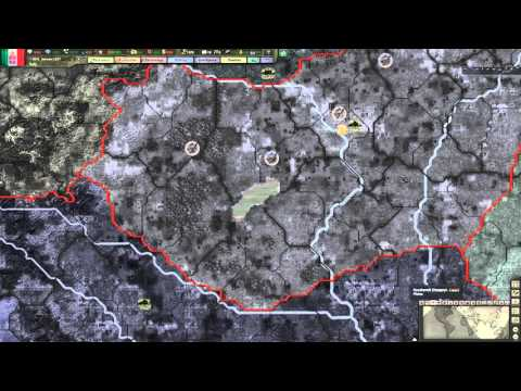 Hearts of Iron 3 - Black Ice 8.5 -  Italy [4] Building divisions!