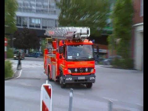 Person unter Zug! Einsatz für die BF/FF Hamburg + Bundespolizei