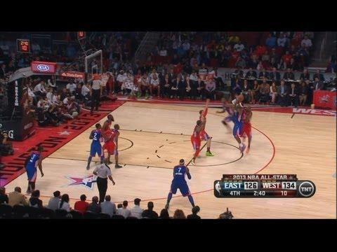 Kobe Crossover on Bosh & Blocks Lebron