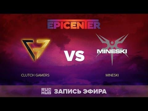Clutch Gamers vs Mineski, EPICENTER SEA Quals, game 2 [Adekvat]