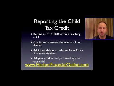 Child Tax Credit Deduction Calculator 2012, 2013