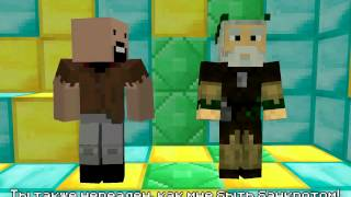 Нотч vs Хиробрин Minecraft