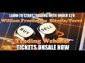 Attention   Feb 26 WILLIAM FREEDMAN S Bitcoin Forex webinar