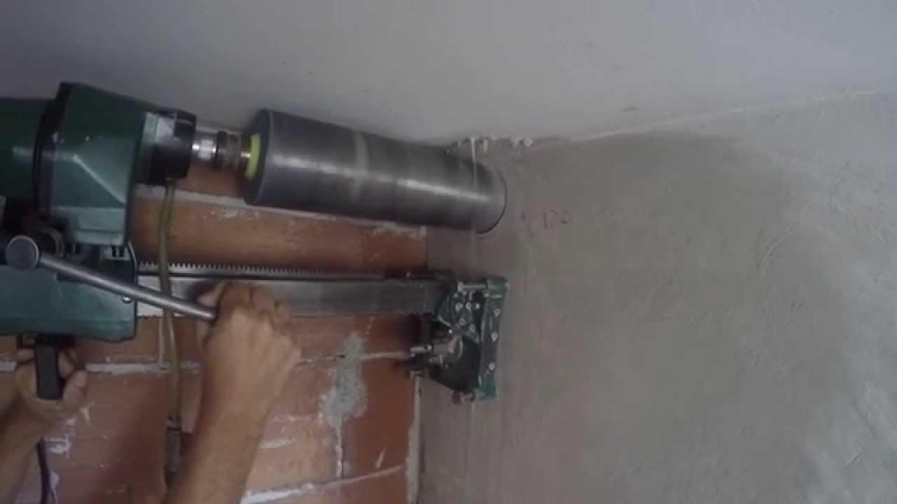 La Carotatrice Stazionaria per cemento armato! - YouTube